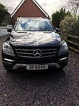 Mercedes ML350 special edition 2012 showroom condition