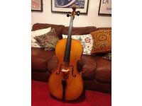 Excellent 1/2 size cello