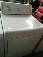 secheuse kenmore blanche