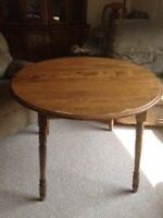 Dining room table, wooden
