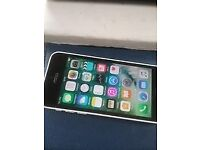 I phone 5c white on Vodafone in good condition