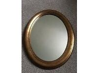 Mirror, Oval Gilt Frame FINAL REDUCTION!!
