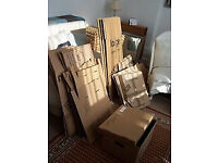 ASSORTED 'PAK STORE' PACKING BOXES (17) FOR HOUSE/FLAT MOVE