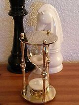 Large Brass Hour Glass