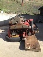 350 Chevy Engine with 280 Volvo Penta Leg