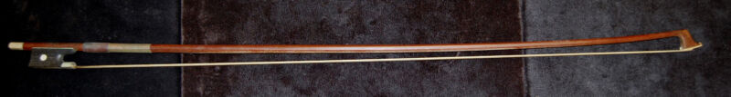 Vintage August Prell 8 Sided Violin Bow