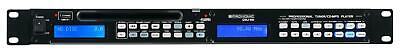 Digital Stereo AM/FM Tuner USB MP3 DJ Media CD Player Pitch Loop 1HE Rackmount
