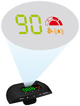 Valeo-Speed-Viseo-Nomad-GPS-HUD-Head-Up-Display-Easy-to-fit-FREE-DELIVERY