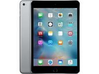 BRAND NEW- IPAD MINI 4 WIFI 128 GB (SPACE GREY) BOXED IN IT'S ORIGINAL PACKAGING & NEVER BEEN OPENED