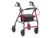 Wanted 4 wheel disability walker with seat and bag