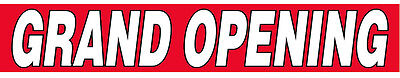 Grand Opening Vinyl Banner Store Business Sign 1x10 Ft - Rb