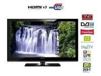 samsung le37a556 lcd tv. hd screen. free view