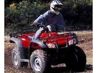 Honda trxx 350 cc