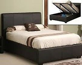 Faux Leather King Size Bed Frame- Brand New Condition