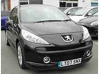 2007 PEUGEOT 3 DOOR HATCHBACK, 1400CC ENGINE, COMPLETE NEW CLUTCH, LONG MOT.