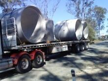 Freighter flat top Sami trailer with bolsters North Booval Ipswich City Preview