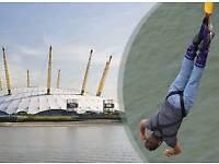 Bungee jump at o2 London
