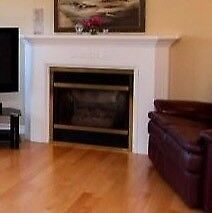 DV34RP Direct Vent Propane Fireplace with Mantel