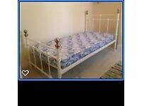 """"""" single metal framed beds"""