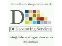 Quality time served painter and decorating service
