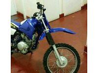 Yamaha ttr 125cc Motocross Bike - Mint Condition