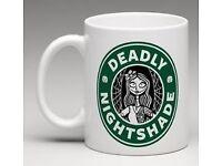 Nightmare Before Christmas Inspired Coffee Mug