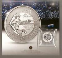 $20 Pure Silver Commemorative Coin - Hockey (2013).