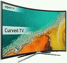 """SAMSUNG 40"""" Led curved smart wifi HD freeview fill hd 1080p new model k series clear crystal."""