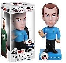 Collectable Big Bang Theory Shelton Spock Bobble Head