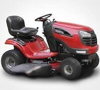 **CASH PAID** for your broken unwanted lawn mower tractor