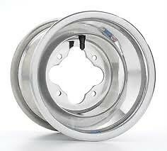 DWT-Alumilite-A5-Rolled-Lip-ATV-Rear-Wheel-9-034-9x8-3-5-4-110-Kawasaki-KFX400-03