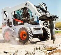 Concrete Removal / All sizes skid steer services