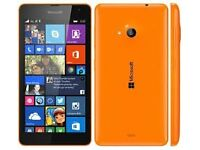 Microsoft Lumia 535 smartphone for sale, mint condition!