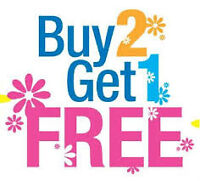 Buy2 Get 1 Free - Wedding Accessories & Decorating Supplies
