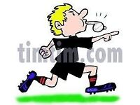 A Qualified and Experienced FA Football Referee available to Referee all types of Football Games