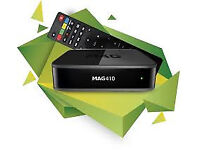MAG BOX HD WD 12 MONTH WARRANTY SKYBOX CABLE BOX