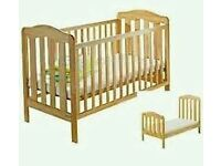 Mamas and Papas Eloise Cot Bed. Used but in great condition.
