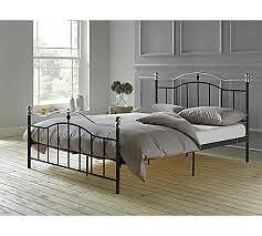 Brynley Double Bed Frame - Black