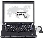 Notebook IBM ThinkPad T61