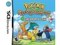 Pokemon Mystery Dungeon- Explorers of Sky