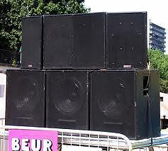 4 sub cabs as is