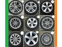 OPEN 7DAYS 6PM SPARES AVAIL FOR MOST CARS STEEL & ALLOY WHEELS WITH TYRE/FREE FITTING MOST SPARES AV