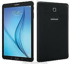 SAMSUNG GALAXY Tab E. 8 INCH TABLET Wifi+Cellular.(SM-T377) Black, Android 6.0 New With Warranty $199.00 No Tax.