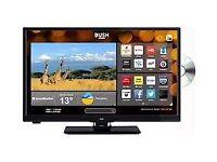 BUSH 24 INCH HD READY SMART TV WITH DVD PLAYER