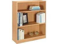 Bookshelves- Various sizes, Beech and Walnut