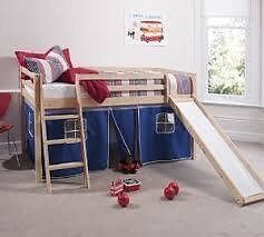 Mid sleeper with slide and tent