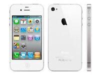 Unlocked 16gb white iPhone 4s