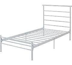Avalon Single Bed Frame - white