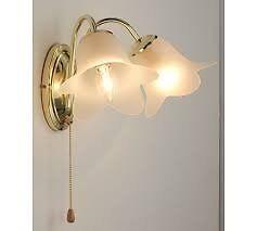 Carolina Brass Twin Wall Lights (pair) £20