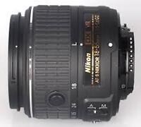 Latest compact Nikon 18-55 VRII
